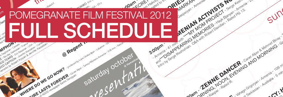 POM 2012 – FULL SCHEDULE – OCTOBER 18-21