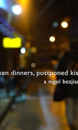 BROKEN DINNERS, POSTPONED KISSES - LEBANON - NIGO