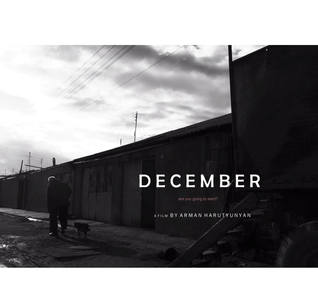 DECEMBER – Armenia – Arman Harutyunyan
