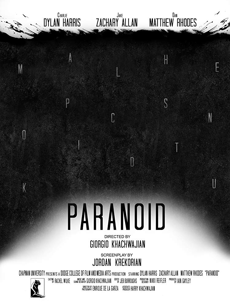 PARANOID – USA – directed by Giorgio Khachwajian